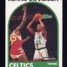 1989-90 Hoops Basketball #248 Ronnie Grandison - Boston Celtics