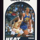 1989-90 Hoops Basketball #141 Grant Long RC - Miami Heat