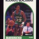 1989-90 Hoops Basketball #020 Rolando Blackman - Dallas Mavericks