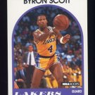1989-90 Hoops Basketball #015 Byron Scott - Los Angeles Lakers