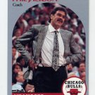 1990-91 Hoops Basketball #308 Phil Jackson CO - Chicago Bulls