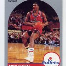 1990-91 Hoops Basketball #300 Bernard King - Washington Bullets