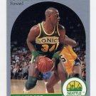 1990-91 Hoops Basketball #280 Xavier McDaniel - Seattle Supersonics