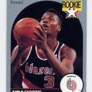 1990-91 Hoops Basketball #250 Clifford Robinson RC - Portland Trail Blazers
