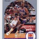1990-91 Hoops Basketball #237 Eddie Johnson - Phoenix Suns