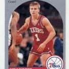 1990-91 Hoops Basketball #226 Scott Brooks - Philadelphia 76ers