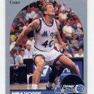 1990-91 Hoops Basketball #217 Dave Corzine - Orlando Magic
