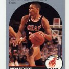 1990-91 Hoops Basketball #165 Kevin Edwards - Miami Heat