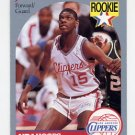 1990-91 Hoops Basketball #148 Jeff Martin - Los Angeles Clippers