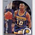 1990-91 Hoops Basketball #133 Vern Fleming - Indiana Pacers