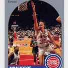 1990-91 Hoops Basketball #105 Scott Hastings - Detroit Pistons