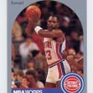 1990-91 Hoops Basketball #101 Mark Aguirre - Detroit Pistons