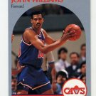 1990-91 Hoops Basketball #080 Hot Rod Williams - Cleveland Cavaliers