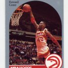 1990-91 Hoops Basketball #037 Kevin Willis - Atlanta Hawks