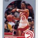 1990-91 Hoops Basketball #027 John Battle - Atlanta Hawks