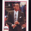 1991-92 Hoops Basketball #244 Larry Brown CO - San Antonio Spurs