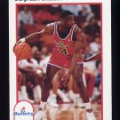 1991-92 Hoops Basketball #215 A.J. English - Washington Bullets