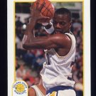 1991-92 Hoops Basketball #069 Tyrone Hill - Golden State Warriors