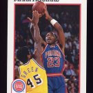 1991-92 Hoops Basketball #059 Mark Aguirre - Detroit Pistons