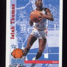 1992-93 Hoops Basketball #303 Isiah Thomas - Detroit Pistons