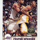 1993-94 Hoops Fifth Anniversary Gold #414 Felton Spencer - Utah Jazz