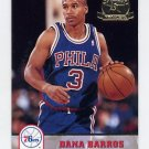 1993-94 Hoops Fifth Anniversary Gold #384 Dana Barros - Philadelphia 76ers