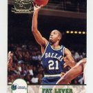 1993-94 Hoops Fifth Anniversary Gold #322 Fat Lever - Dallas Mavericks