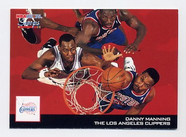 1993-94 Hoops Scoops #HS12 Danny Manning - Los Angeles Clippers