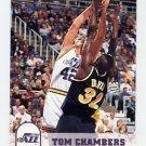 1993-94 Hoops Basketball #412 Tom Chambers - Utah Jazz