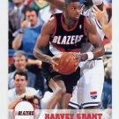 1993-94 Hoops Basketball #397 Harvey Grant - Portland Trail Blazers