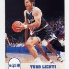 1993-94 Hoops Basketball #383 Todd Lichti - Orlando Magic