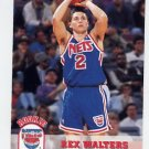1993-94 Hoops Basketball #374 Rex Walters RC - New Jersey Nets