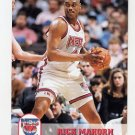 1993-94 Hoops Basketball #372 Rick Mahorn - New Jersey Nets