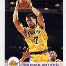 1993-94 Hoops Basketball #357 Trevor Wilson - Los Angeles Lakers