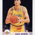 1993-94 Hoops Basketball #353 Sam Bowie - Los Angeles Lakers