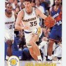1993-94 Hoops Basketball #335 Jud Buechler - Golden State Warriors