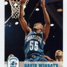 1993-94 Hoops Basketball #310 David Wingate - Charlotte Hornets