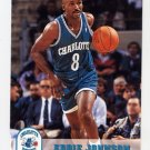1993-94 Hoops Basketball #309 Eddie Johnson - Charlotte Hornets
