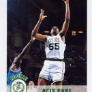 1993-94 Hoops Basketball #305 Acie Earl RC - Boston Celtics