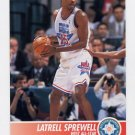 1994-95 Hoops Basketball #249 Latrell Sprewell - Golden State Warriors