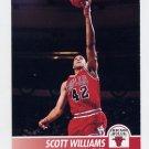 1994-95 Hoops Basketball #031 Scott Williams - Chicago Bulls