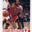 1994-95 Hoops Basketball #023 B.J. Armstrong - Chicago Bulls