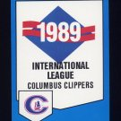1989 Procards Baseball #0732 Columbus Clippers Team Checklist