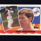 1990 Topps Big Baseball #082 Orel Hershiser - Los Angeles Dodgers