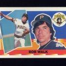 1990 Topps Big Baseball #023 Bob Walk - Pittsburgh Pirates