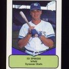 1990 Procards AAA Baseball #361 Ed Sprague - Syracuse Chiefs