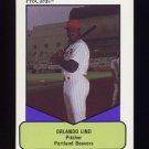 1990 Procards AAA Baseball #245 Orlando Lind - Portland Beavers