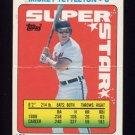 1990 Topps Sticker Backs Baseball #57 Mickey Tettleton GVg