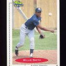 1991 Classic/Best Baseball #332 Willie Smith - Albany Yankees