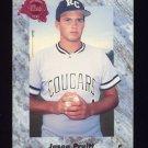 1991 Classic Four Sport Baseball #076 Jason Pruitt - New York Yankees